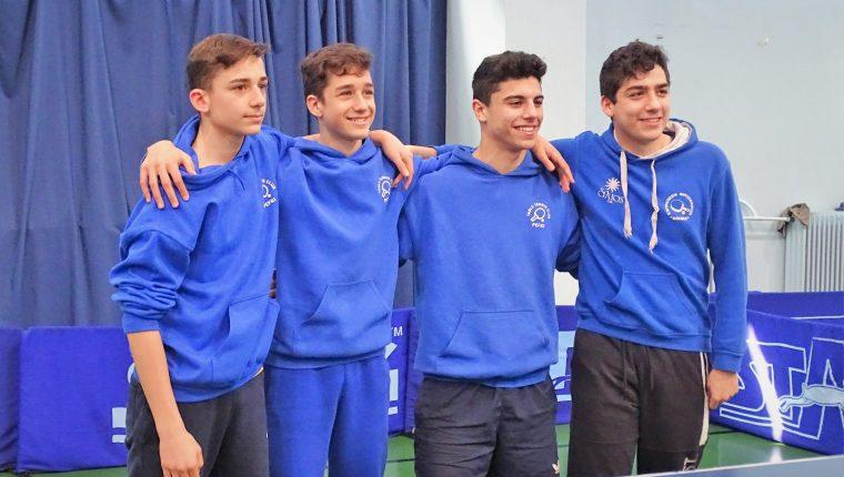 Α.Σ. 'Το Γυμνάσιο' και Α.Ο. Δόξα Πεύκης τερμάτισαν στην πρώτη θέση